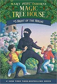 Книга: Ниндзя в ночи (Волшебный дом на дереве - 5)