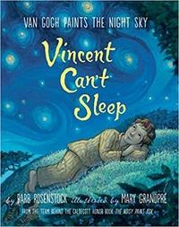 Книга: Не спится. Ван Гог пишет ночное небо